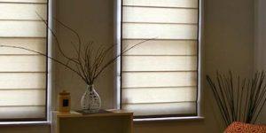 motorised roman blinds